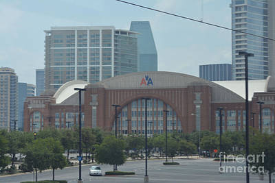 American Airlines Center Original by Ruth  Housley