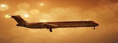 Photograph - American Airlines Md80  by Aaron Berg