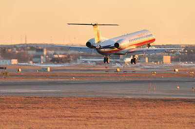 Photograph - American Airlines  by Puzzles Shum