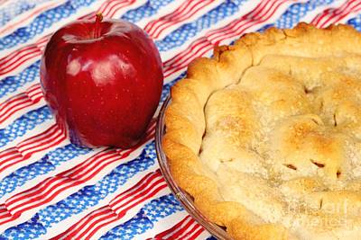 American As Apple Pie Art Print