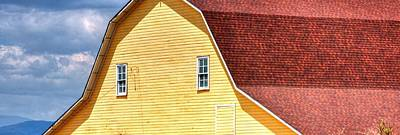 Jerry Sodorff Royalty-Free and Rights-Managed Images - American Barn 14601 by Jerry Sodorff