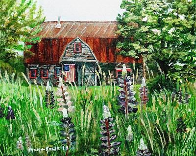 Painting - American Barn by Shana Rowe Jackson