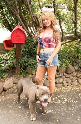 Bullie Photograph - American Bullie by Beth Wickham
