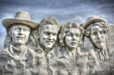 Tourist Attraction Digital Art - American Cinema Icons - America's Sweethearts by Dan Stone