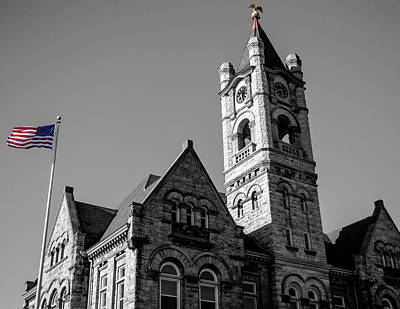 American Courthouse Art Print