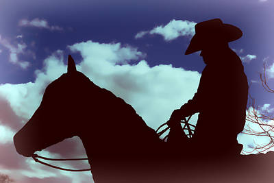 Photograph - American Cowboy by Athena Mckinzie