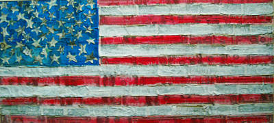 Make America Rich Again Original by Karen Serfinski