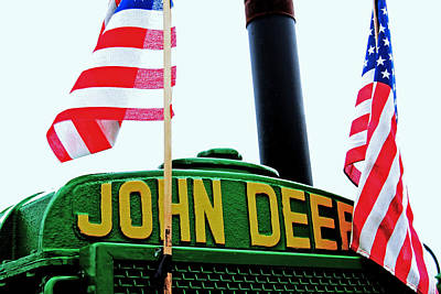 Country Scenes Photograph - American Deere by Heather Allen