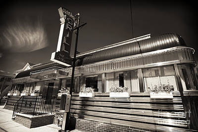 Freehold Photograph - American Diner by John Rizzuto