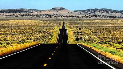 Buckaroo Photograph - American Eagle Hillside Harney County Oregon by Michele AnneLouise Cohen