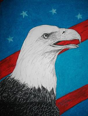American Eagle Art Print by Maricay Smeenk