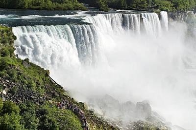 Photograph - American Falls - Niagara by Jatinkumar Thakkar