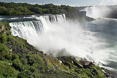 Photograph - American Falls At Niagara by Jatinkumar Thakkar