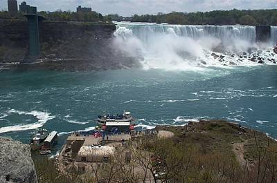 Art Print featuring the photograph American Falls From Above The Maid by Barbara McDevitt