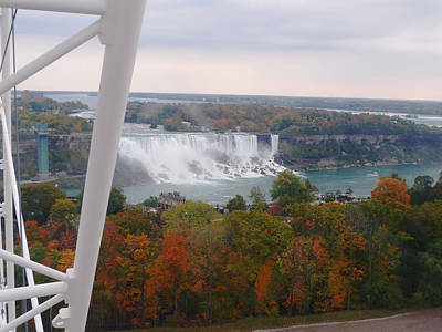 Photograph - American Falls From Skywheel by Richard Reeve