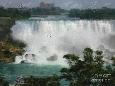American Falls - Niagara Art Print