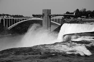 Photograph - American Falls Viewing Prospect Point by Crystal Wightman