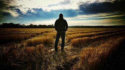 Phoneography Photograph - American Farmer by Tommy Wallace