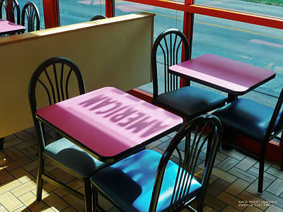 Art Print featuring the photograph American Fast Food by David Perry Lawrence