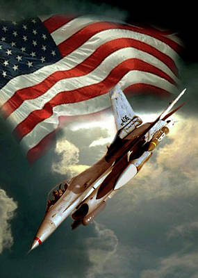 Jets Painting - American Feedom  by Regina Femrite
