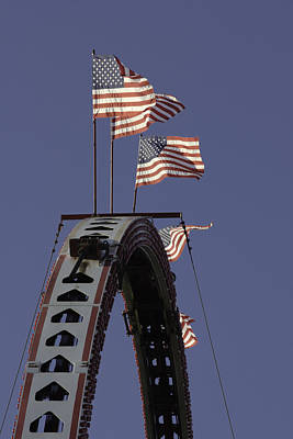 Photograph - American Flag by Bob Noble