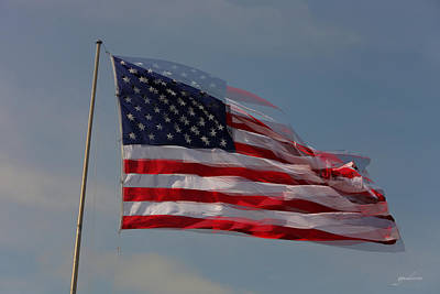Photograph - American Flag by Gary Gunderson