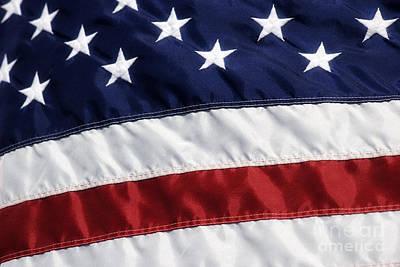 Photograph - American Flag by Jill Lang