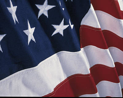 American Flag Art Print by Panoramic Images