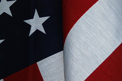 Photograph - American Flag by Tam Ryan