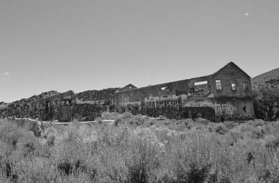 Photograph - American Flats Bw 2 by Brent Dolliver