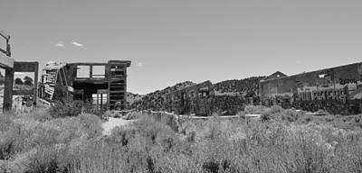 Photograph - American Flats Bw by Brent Dolliver