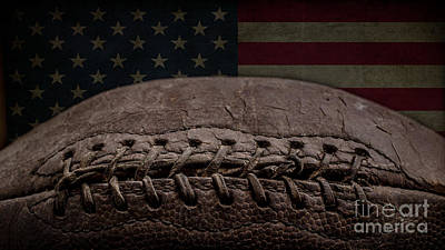 Landmarks Royalty Free Images - American Football Royalty-Free Image by Edward Fielding