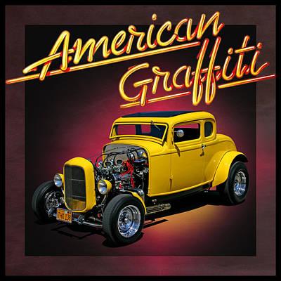 American Graffiti Art Print