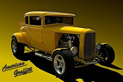 Photograph - American Graffiti Tribute Hot Rod by Tim McCullough