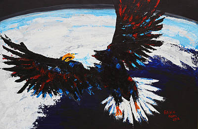 American Guardian Art Print by Patricia Olson