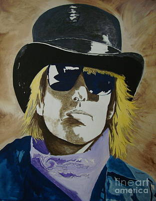 Tom Petty Painting - American Guy by Stuart Engel