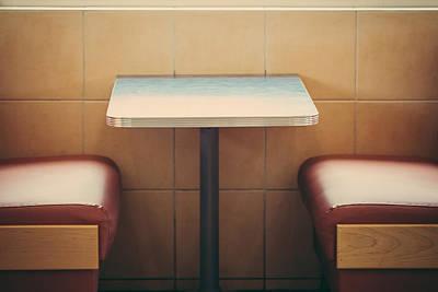 American Heritage - Diner Art Print by Kyra Savolainen