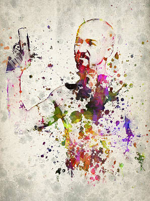 Fear Mixed Media - American History X by Aged Pixel