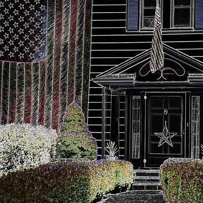 Jerry Sodorff Royalty-Free and Rights-Managed Images - American Home 25515 GE by Jerry Sodorff