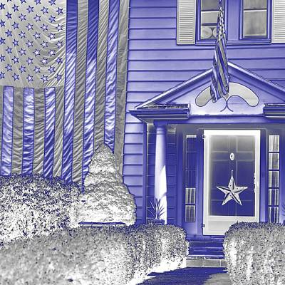 Jerry Sodorff Royalty-Free and Rights-Managed Images - American Home 25515 NG by Jerry Sodorff