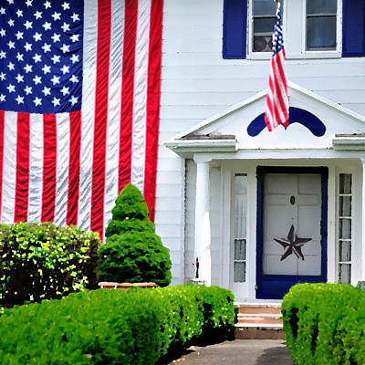 Jerry Sodorff Royalty-Free and Rights-Managed Images - American Home 25515 PK by Jerry Sodorff