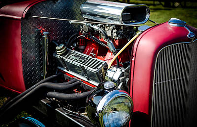 Photograph - American Hotrod by David Morefield