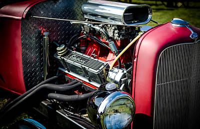 Landmarks Royalty Free Images - American Hotrod Royalty-Free Image by David Morefield