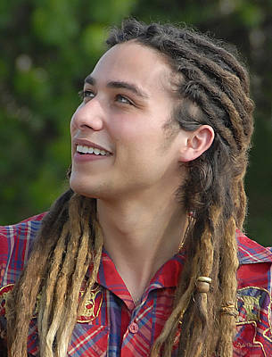 Photograph - American Idol Finalist Jason Castro by Dyle   Warren