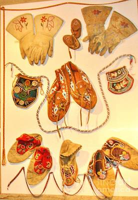 Beaded Gloves Photograph - American Indian Artwork by Marilyn Diaz