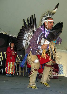 American Indian Dance Art Print by Bill Marder