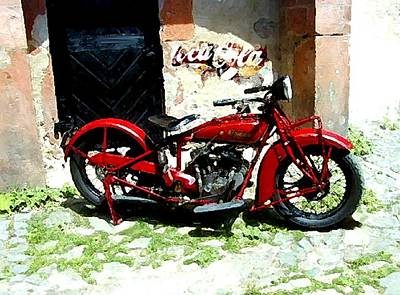 American Indian   Indian Motorcycle  Original