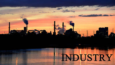 Photograph - American Industry by David Lee Thompson