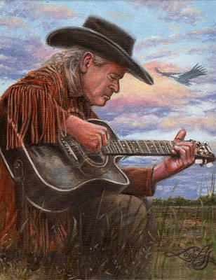 Musicians Paintings - American Legacy by James Loveless