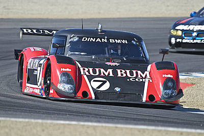 Bmw Racing Car Photograph - American Lemans Bmw Prototype by Dave Koontz
